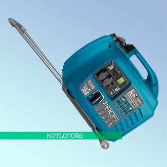 Генератор гибридный инверторный Konner & Sohnen KS 3300iEG S Profi (Бензин/газ)