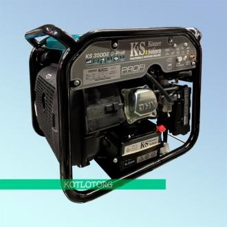 Генератор гибридный инверторный Konner & Sohnen KS 3500iEG Profi (Бензин/газ)