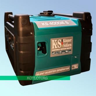 Генератор бензиновый инверторный Konner & Sohnen KS 4000iE S