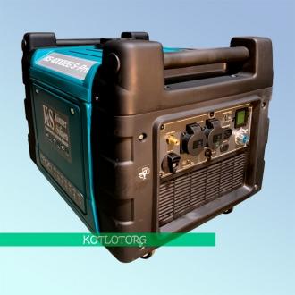 Генератор гибридный инверторный Konner & Sohnen KS 4000iEG S Profi (Бензин/газ)