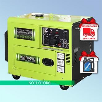 Konner & Sohnen Basic KSB 6000DES ATSR - Дизельный генератор Конер энд Зонен