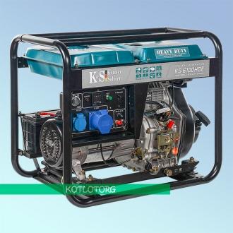 Генератор дизельный Konner & Sohnen KS 6100 HDE