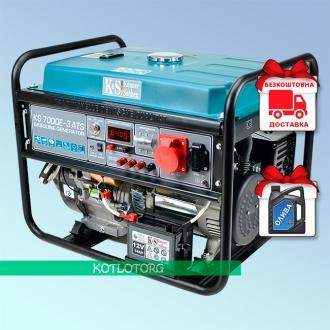 Konner & Sohnen KS 7000E-3 ATS - Бензиновый генератор Конер энд Зонен
