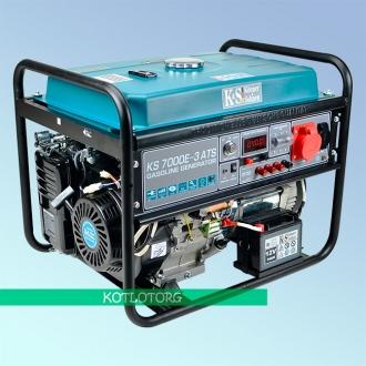 Генератор бензиновый Konner & Sohnen KS 7000E-3 ATS