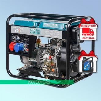 Konner & Sohnen KS 8100HDE-1/3 ATSR - Дизельный генератор Конер энд Зонен
