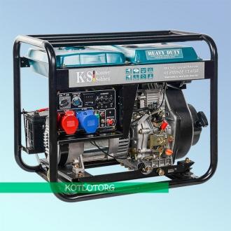 Генератор дизельный Konner & Sohnen KS 8100 HDE-1/3 ATSR