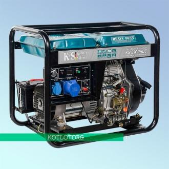 Генератор дизельный Konner & Sohnen KS 8100 HDE