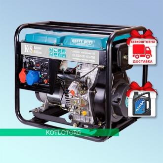 Konner & Sohnen KS 8102HDE-1/3 ATSR - Дизельный генератор Конер энд Зонен
