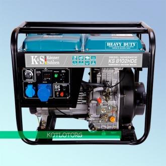 Генератор дизельный Konner & Sohnen KS 8102 HDE