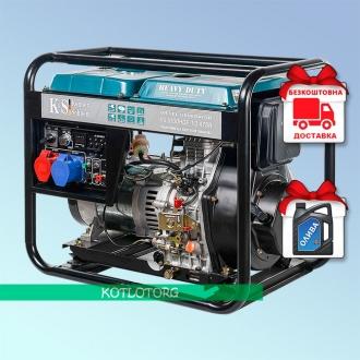 Konner & Sohnen KS 9100HDE-1/3 ATSR - Дизельный генератор Конер энд Зонен