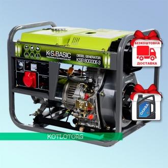 Konner & Sohnen Basic KSB 8000DE-3 - Дизельный генератор Конер энд Зонен