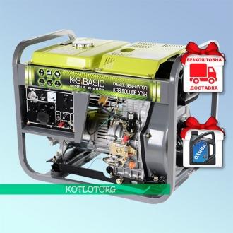 Konner & Sohnen Basic KSB 8000DE ATSR - Дизельный генератор Конер энд Зонен