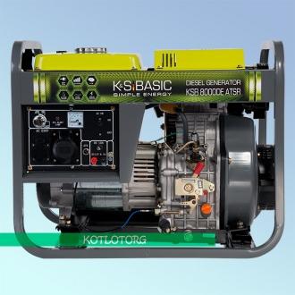 Генератор дизельный Konner & Sohnen KSB 8000 DE ATSR