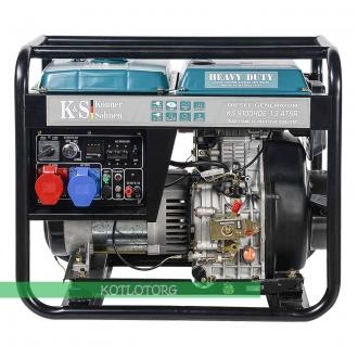 Дизельный генератор Konner & Sohnen KS 9100HDE-1/3 ATSR