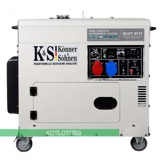 Дизельный генератор Konner & Sohnen KS 9200HDES-1/3 ATSR