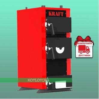 Kraft E New (12-24 кВт) - Твердотопливный котел Крафт