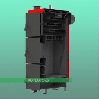 Твердотопливный котел длительного горения Kraft L+