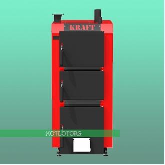 Твердотопливный котел длительного горения Kraft S
