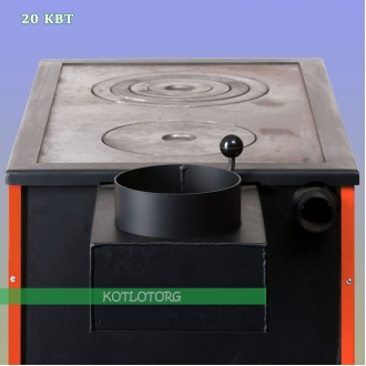 Твердотопливный котел – плита MaxiTerm-P