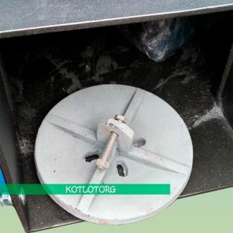 Твердотопливный котел длительного верхнего горения Neus Turbo