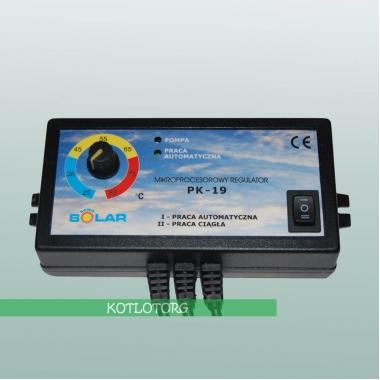 Электронный блок управления насосом отопления Новосолар PK-19