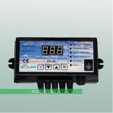 Электронный блок управления вентилятором и насосом Новосолар PK-22