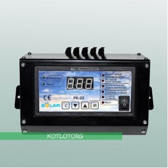 Nowosolar PK-22 Lux - Автоматика для твердотопливного котла