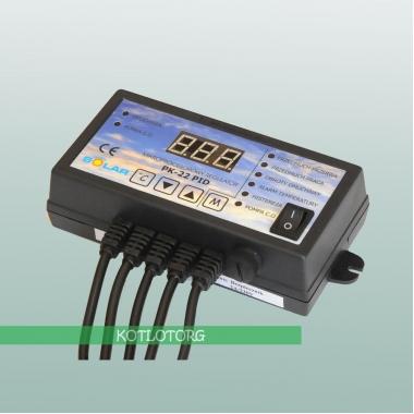 Электронный блок управления вентилятором и насосом Nowosolar PK-22 PID