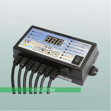 Электронный блок управления вентилятором и насосами Nowosolar PK-23
