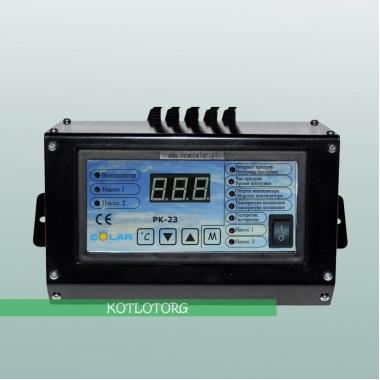 Электронный блок управления вентилятором и насосами Новосолар PK-23 Lux