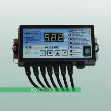 Электронный блок управления вентилятором и насосами Новосолар PK-23-PID
