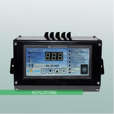 Электронный блок управления вентилятором и насосами Новосолар PK-23-PID Lux