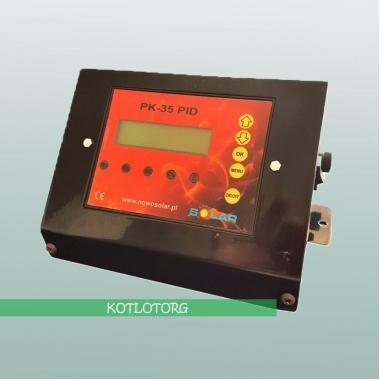 Электронный блок управления вентилятором и насосами Новосолар PK-35-PID