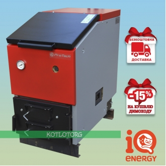 ProTech TT Eko Long (14-30 кВт) - Котел на дровах и угле ПроТех