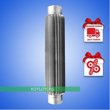 Дымоходный радиатор из нержавейки 1м (1мм)