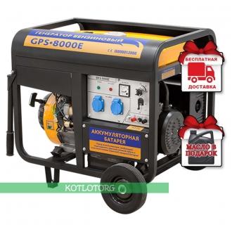 Генератор бензиновый Sadko GPS 8000E
