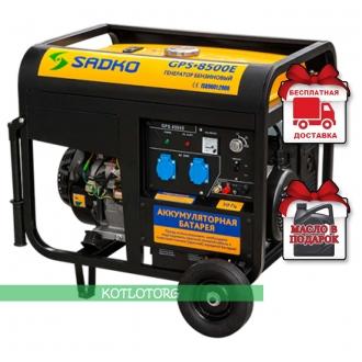 Sadko GPS 8500E - Бензиновый генератор Садко