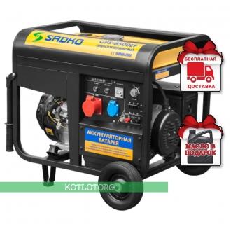 Sadko GPS 8500EF - Бензиновый генератор Садко