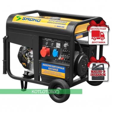 Генератор бензиновый Sadko GPS 8500EF