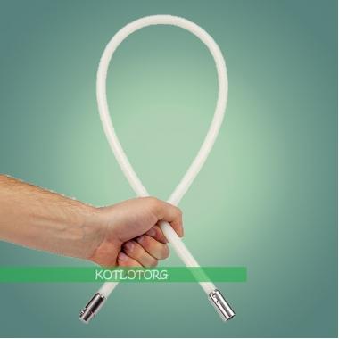 Гибкая ручка роторного набора для чистки дымоходов Савент Турбо