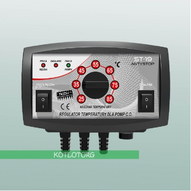 Электронный блок управления насосом отопления Tech ST-19