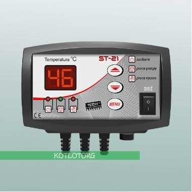 Электронный блок управления насосом отопления Tech ST-21