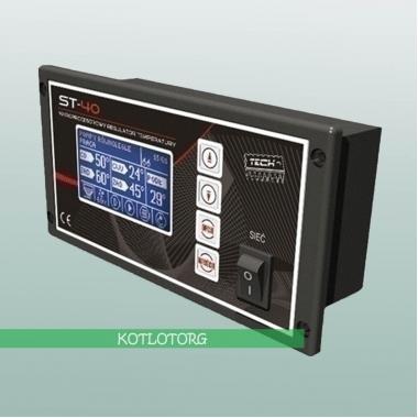 Электронный блок управления вентилятором, насосами и горелкой Tech ST-40