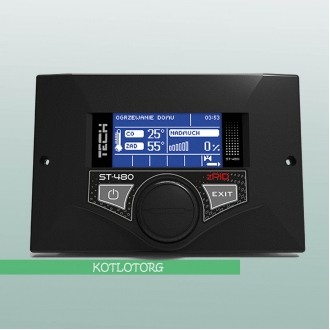 Tech ST-480 zPID - Автоматика для пеллетного котла