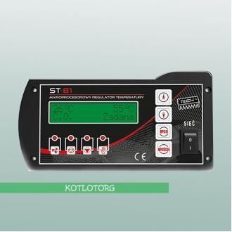 Tech ST-81 Sigma - Автоматика для твердотопливного котла