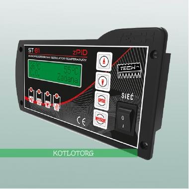 Электронный блок управления вентилятором и насосами Tech ST-81 PID