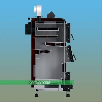 Твердотопливный котел длительного горения Thermo Alliance Ferrum FSF