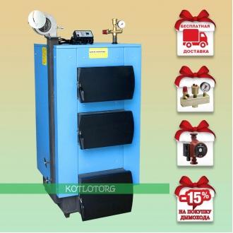 Укртермо 100 (12-45 кВт) - Твердотопливный котел Ukrtermo