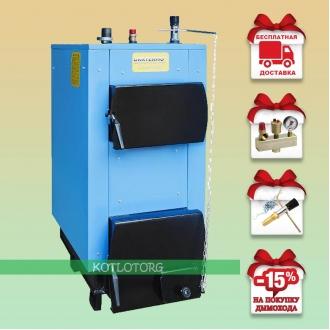 Укртермо 100Д (16-18 кВт) - Котел на дровах и угле Ukrtermo