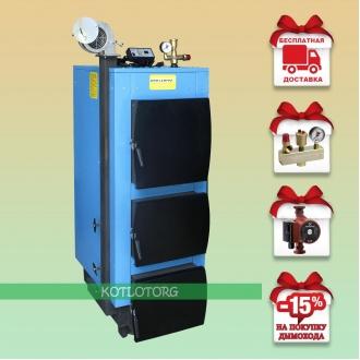 Укртермо 200 (17-95 кВт) - Твердотопливный котел Ukrtermo